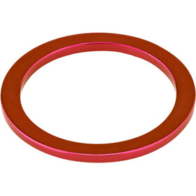 "KCNC Headset Spacer 1 1/8"" 2mm rød"